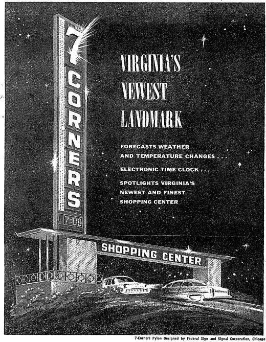 Information about 7 Corners, Virginia's Newest Landmark.