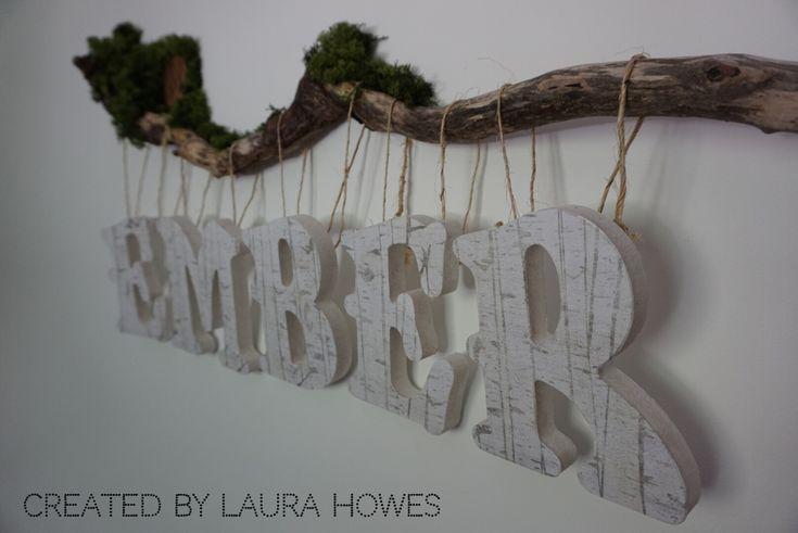 Name wall Woodland Nursery