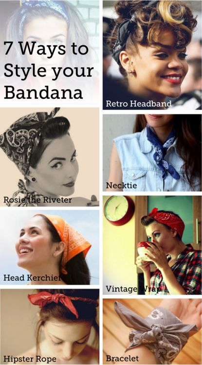 since i'm wearing bandanas as i grow out my hair...( I will try it )☺