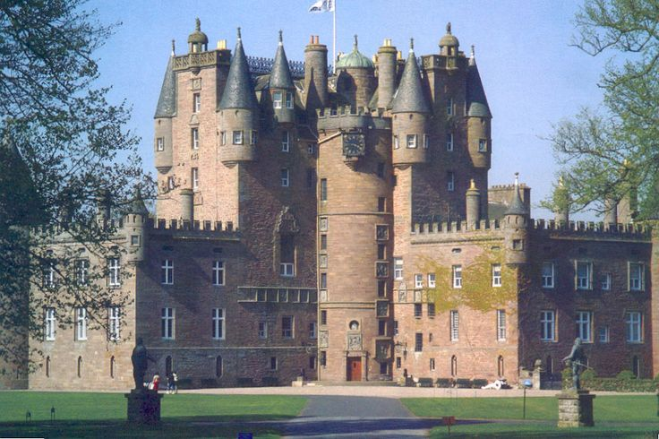 Glamis Castle, Scotland  A castle of legends and fairytales. The ancestral home of the Earls of Strathmore, Glamis Castle is the childhood home of the late Queen Mother and the birthplace of Princess Margaret. A Scottish Tourist Board 5 star attraction.