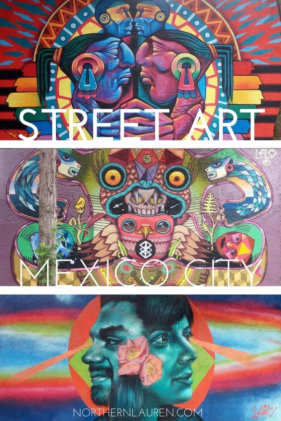 The best street art in Mexico City, in Roma-Condesa, Coyoacán, Colonia Doctores and the Historic Centre. If you're wondering where to see and find Mexico City street art, this is the post for you.