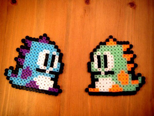 Bubble Bobble Pixel Beads by ~x1901 on deviantART