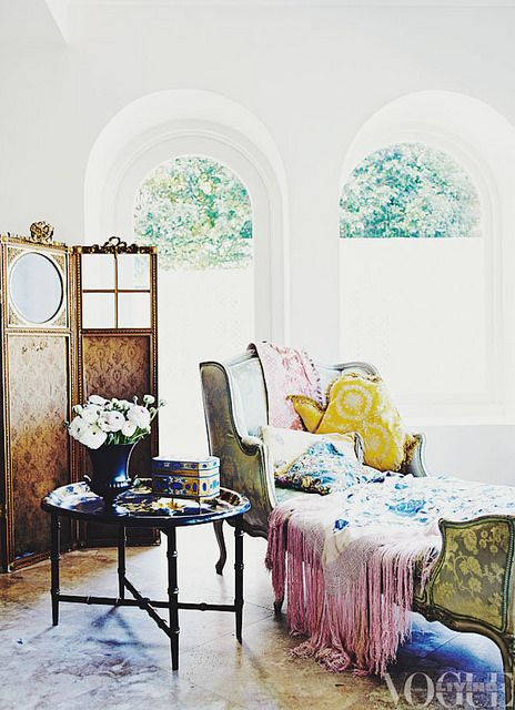 {décor inspiration | at home with : fashion designer melanie greensmith} by {this is glamorous}, via Flickr