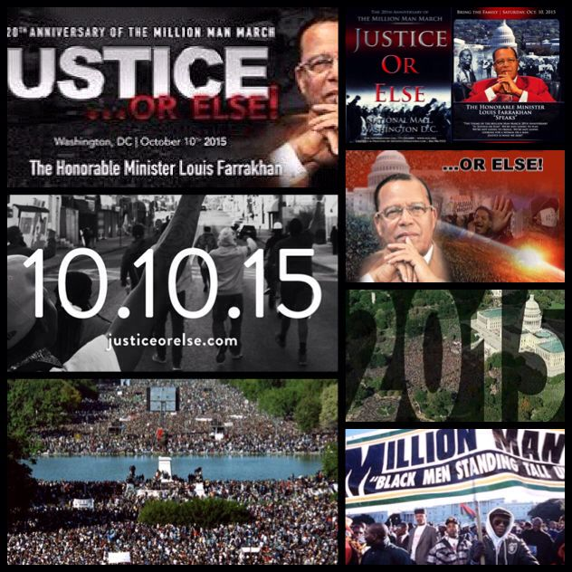 The #20thAnniversary of The Million Man March. Join us as we demand justice in Washington, D.C. on Saturday October 10th, 2015. Our People Suffer from a Lack of Knowledge. Million Man March 20th Anniversary. #MillionManMarch #Washington #October10th #BlackLivesMatter #History