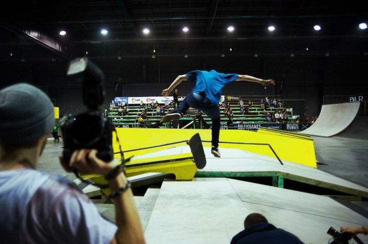 #SHCElements #BalticGames #Wingdansk #WinterGamingGdansk #AmberExpo ; #skateboard #trick #flip #skate #gap   photo: Piotr Połoczański