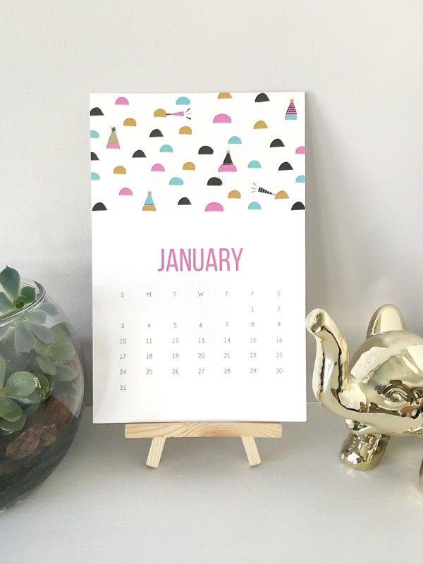 21 calendriers d co design pour 2016 deco and design - Calendrier design ...