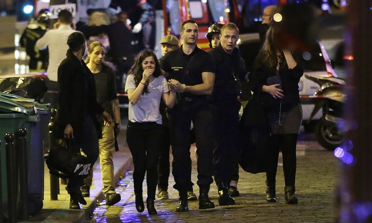 14 November 2015 | Paris terror attacks: eight attackers dead after killing at least 120 people |  Latest coverage of the attacks across Paris that have left at least 120 people dead -REPRESENTS VICTIMS AS VULNERABLE AND UNPREPARED. REPRESENTS THE ATTCK AS COMPLETELY UNEXPECTED.