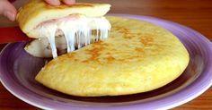 'omelette De Patate à L' Italienne: Un Plat D'une Simplicité étonnante Et Au Goût Unique