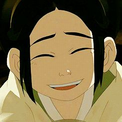 Aw toph :) in my top 3 favorite characters