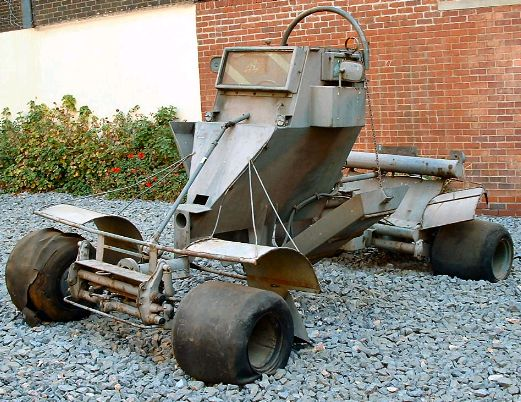 Rhodesian Pookie land mine detection vehicle