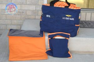 adorable coast guard diaper bag