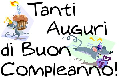 Happy Birthday Best Wishes Italian sayings – Happy Birthday Greetings in Italian