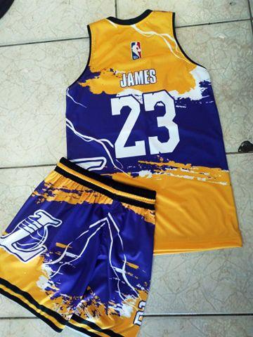 Lebron James La Lakers Basketball Jersey Designs In 2020 Jersey Design Basketball Jersey Basketball Game Outfit