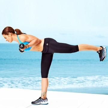 The trick is all in the toning. Sculpt your arms sleek and sexy like Jillian's with her five go-to moves.