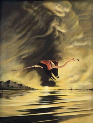 "Saatchi Art Artist finn campbell-notman; Painting, ""A Safe Haven / Un Refugio Seguro"" #art"