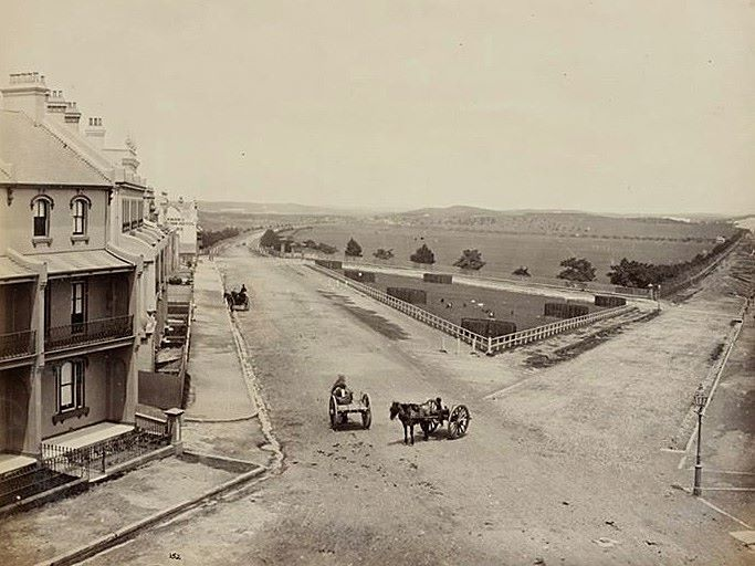 MOORE PARK - corner Anzac Parade and South Dowling Street 1881 (Randwick City Council)