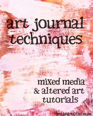 There are many art journal techniques to try - the possibilities are truly endless! If you're looking for something new to try or experiment with, browse through our art journal techniques - updated regularly!