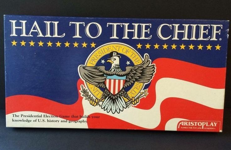 Hail To The Chief Board Game Presidential Election Aristoplay Vtg 1987 COMPLETE #Aristoplay