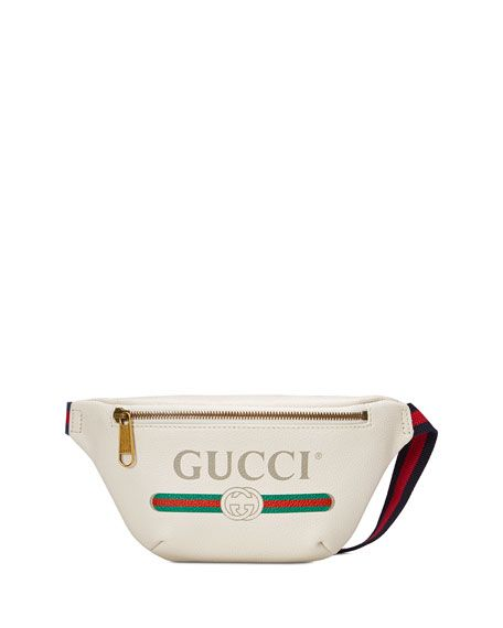 90921552e Get free shipping on Gucci Gucci-Print Small Leather Belt Bag at Neiman  Marcus. Shop the latest luxury fashions from top designers.
