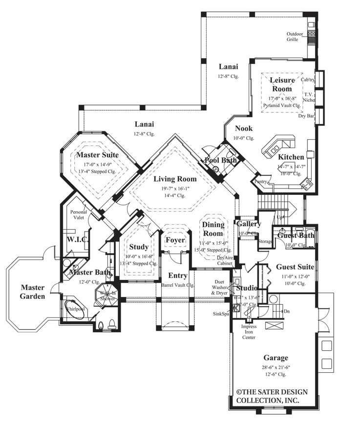 1000 images about modern contemporary styled home plans for Sater home designs