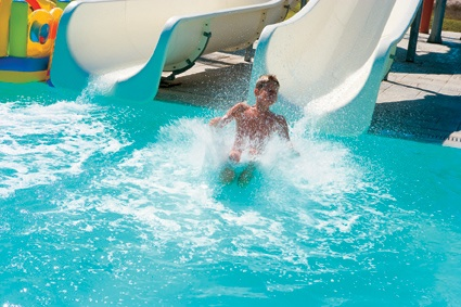 Rhodos Royal, great NEW waterslides