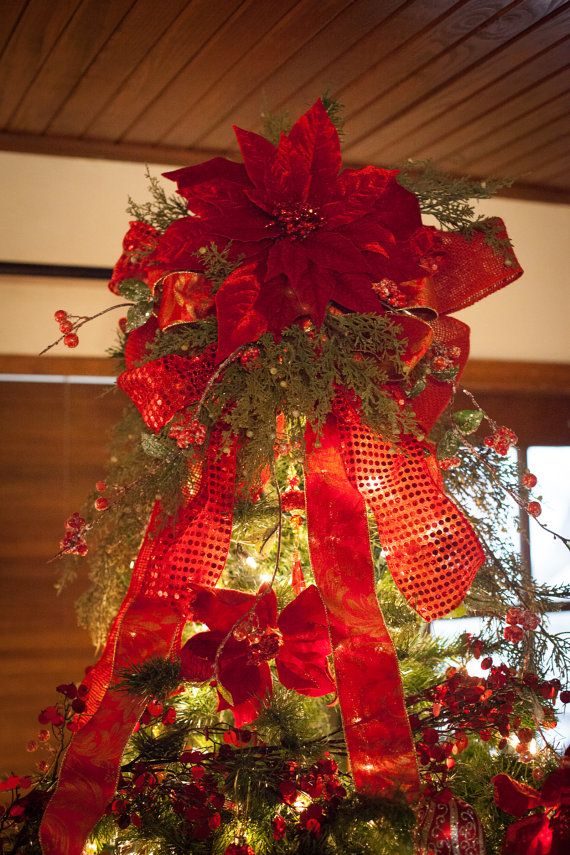Rustic Christmas Tree Topper With 22
