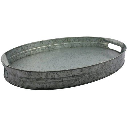 Free 2-day shipping on qualified orders over $35. Buy Better Homes and Gardens Galvanized Oval Tray at Walmart.com