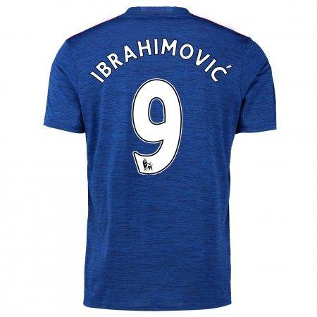Manchester United 16-17 Zlatan #Ibrahimovic 9 Bortatröja Kortärmad,259,28KR,shirtshopservice@gmail.com