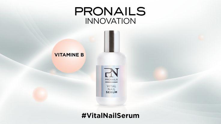 Scopriamo insieme #VitalNailSerum e tutti i suoi 6 componenti! #3 Le Vitamine B sono un gruppo di vitamine idrosolubili che intervengono nel metabolismo cellulare. Sono essenziali per avere unghie forti, non secche e senza striature. #pronailsitalia #pronails #loveyourhands #sopolish VitalNailSerum, il trattamento naturale che ripara, protegge e rigenera!