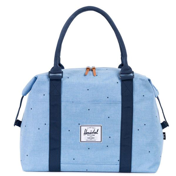 Fall 2015 Herschel Supply Co. Strand Duffle in Scattered Chambray