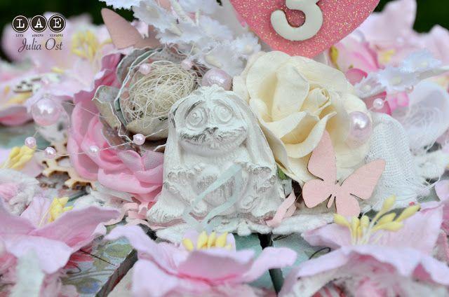 блог-вдохновение от d.h.LAE: »Праздничное украшение от Юли остановской