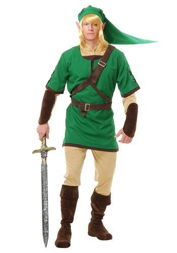 Adult Elf Hero Costume - Zelda Link Costume Ideas