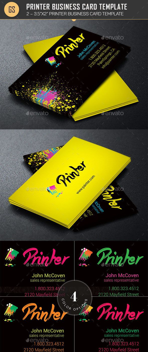 194 best business cards templates images on pinterest corporate printer business card template photoshop psd art director painter available here reheart