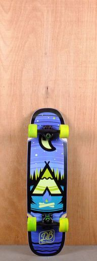 "The DB Prebuilt 29"" Camp Cruiser Skateboard is designed for campus commuting and carving."