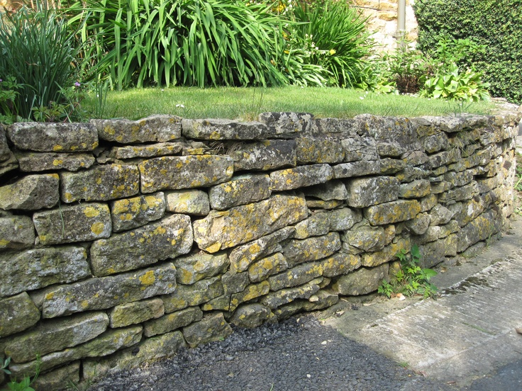 Cotswolds stone wall