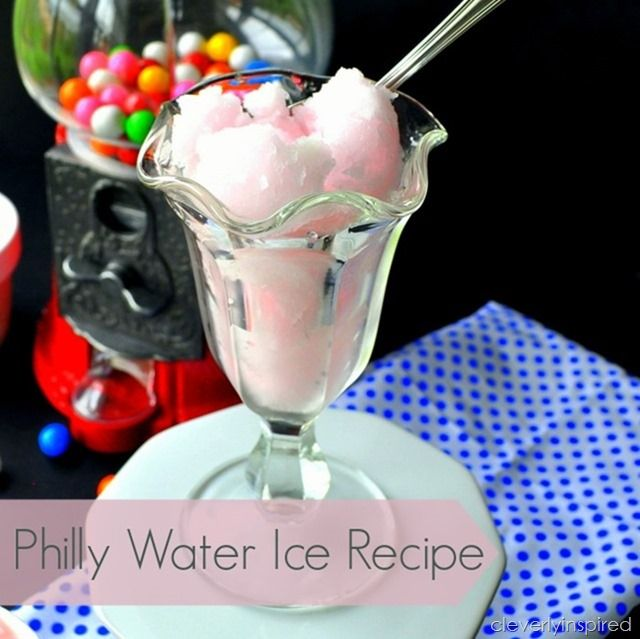 How to Make Philly Water Ice | TodaysCreativeBlog.net