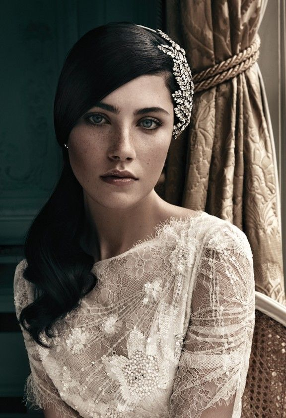 Love this hair piece. Bridal Accessories 2013 - Jenny Packham