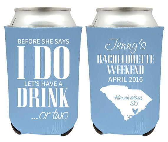 bachelorette party ideas - bachelorette beer koozies