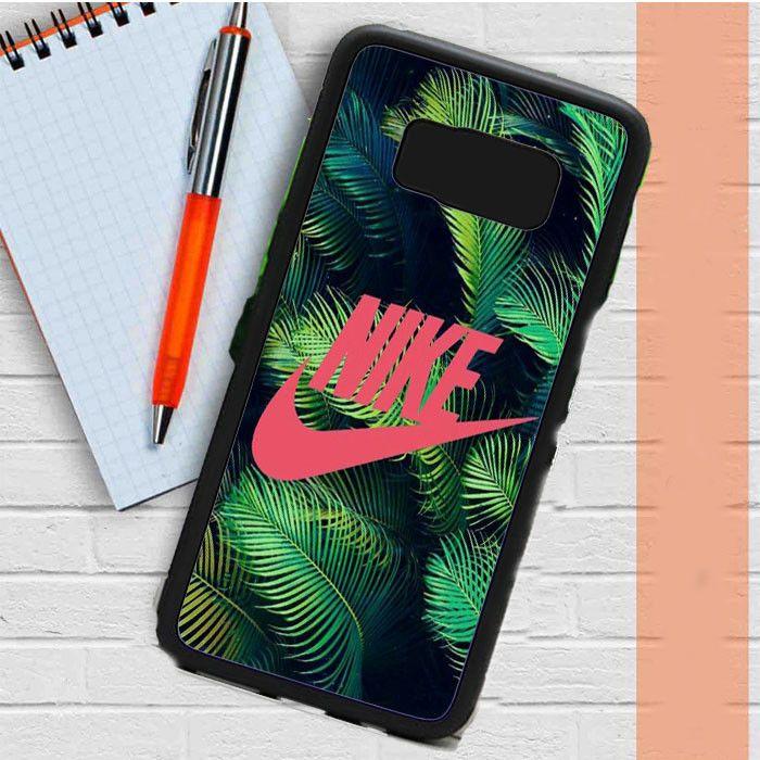 Nike Palm Pink Samsung Galaxy S8 Case Dewantary