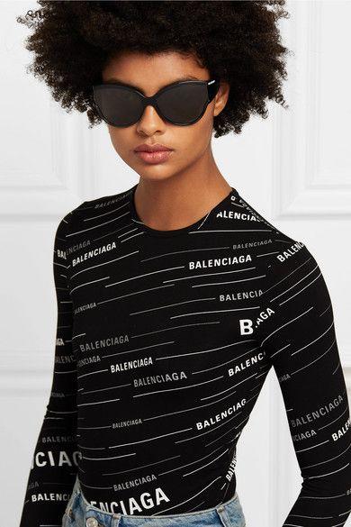 7b2f463e80720 Balenciaga - Unlimited cat-eye acetate sunglasses in 2019