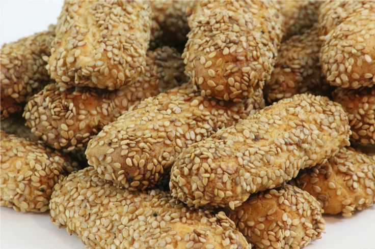 Italian Sesame seed cookies. I use to love these growing up!