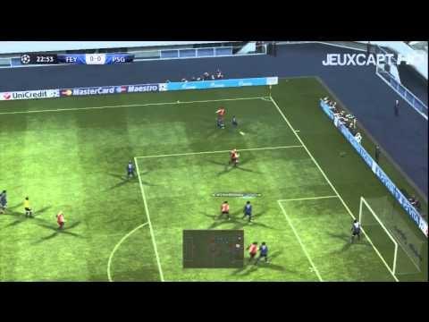 FOOTBALL -  PES 2013 - Ligue des Champions 4ème journée Feyenoord - PSG (Début des matchs retour) - http://lefootball.fr/pes-2013-ligue-des-champions-4eme-journee-feyenoord-psg-debut-des-matchs-retour/