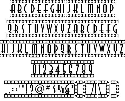 Showtime font by ARRF Designs - FontSpace