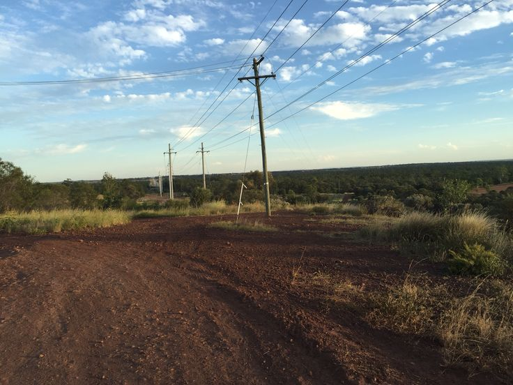 Best view from the top of Moranbah. Looking back on some of the mine sites