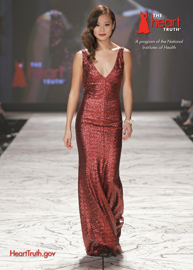 Jamie Chung in David Meister for The Heart Truth&39s 2013 Red Dress ...