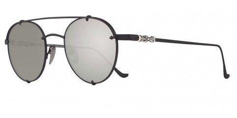 9102a6fe4 Chrome Hearts Oralgami MBK Matte Black/Silver Mirror   Sunglasses   Chrome  hearts, Chrome, Sunglasses