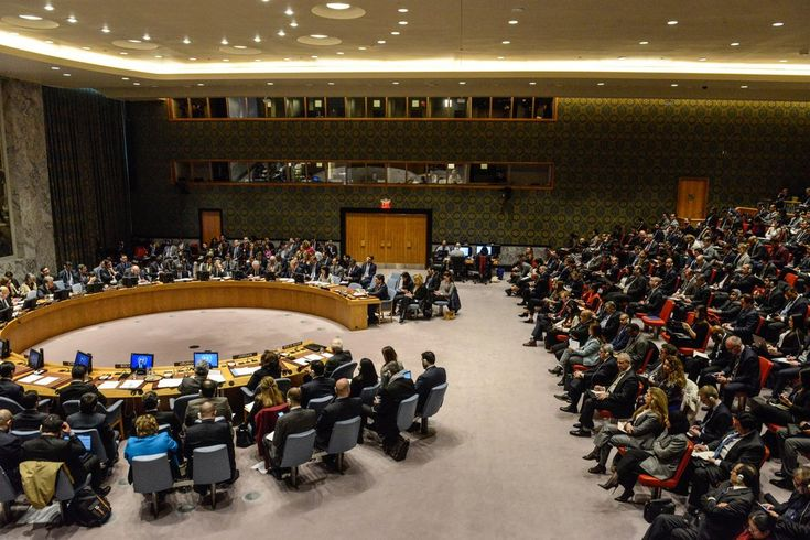 A United Nations Security Council meeting on Jerusalem this month. The council's longtime view has been that no country should establish an embassy in Jerusalem.
