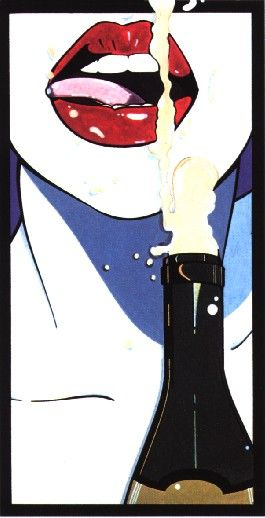 1980s Pin-Up Girls illustrations by Patrick Nagel