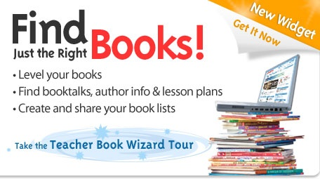 Scholastic book wizard - enter the book a student wants to read (not at their level), and their current reading level, and it will tell you similar books at their reading level - genius!
