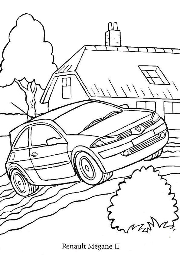 104 best images about coloriages de voitures on pinterest cars jaguar type and citroen xsara - Cars coloriage voitures ...